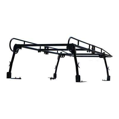 1,000 lbs. Capacity Black Steel Truck Ladder Rack