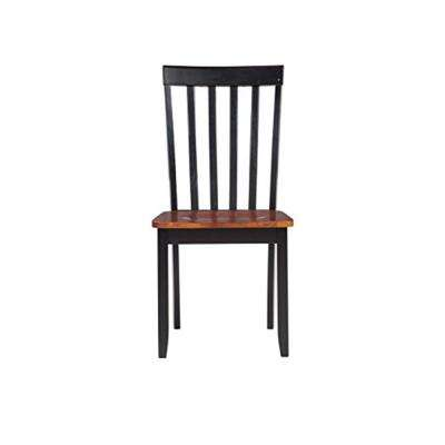 Bloomington Black and Cherry Wood Dining Chair (Set of 2)
