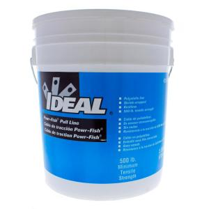 Ideal In X 2 200 Ft Powr Fish Pulling Line In A