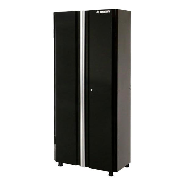 Husky 72 In H X 30 In W X 18 In D Steel Tall Garage Cabinet G3002t Us The Home Depot