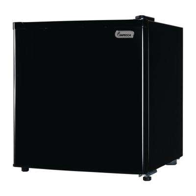 1.7 cu. ft. Mini Fridge with Chiller in Black