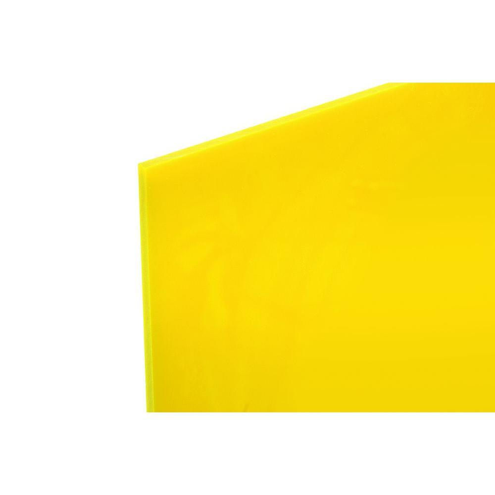 null 48 in. x 96 in. x .118 in. Yellow Acrylic Sheet