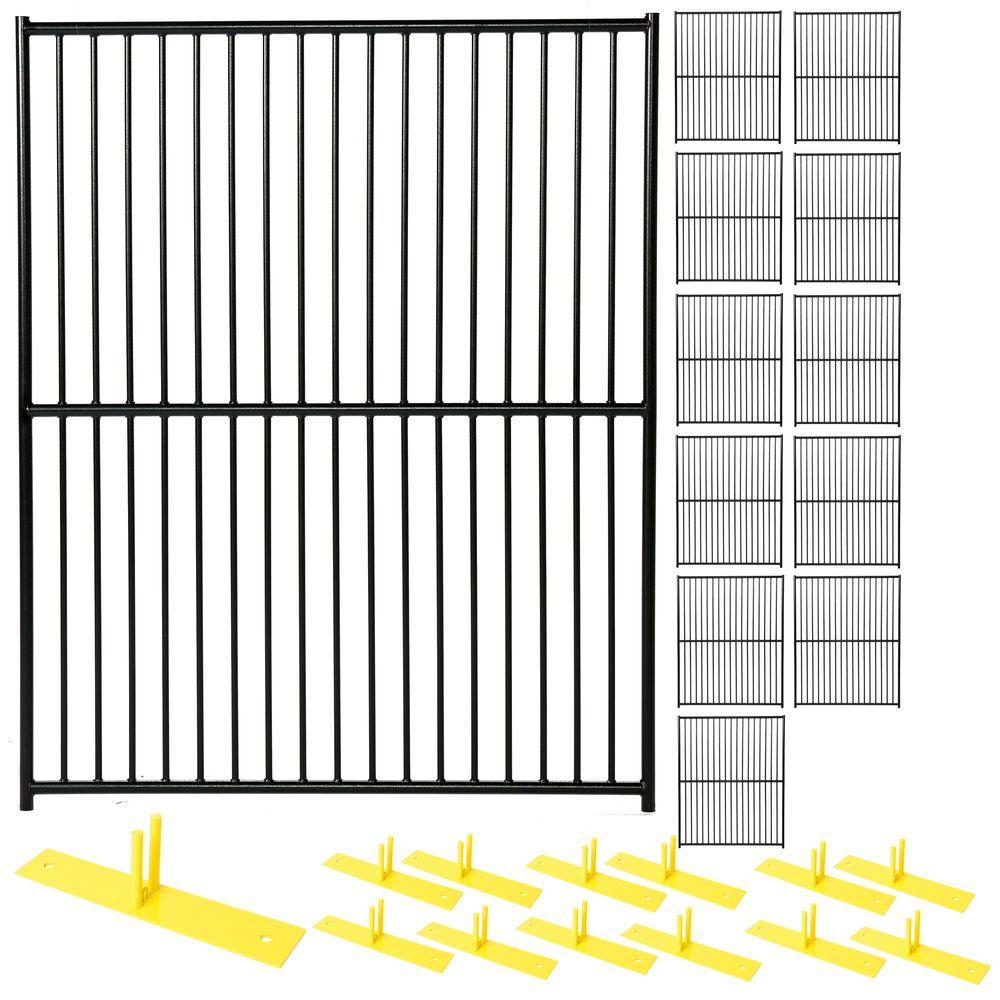 Perimeter Patrol 6 Ft X 60 Ft 12 Panel Black Powder