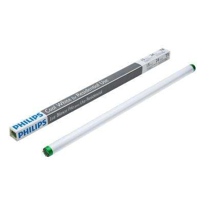 2 ft. 15-Watt T8 Cool White (4100K) Linear Fluorescent Light Bulb