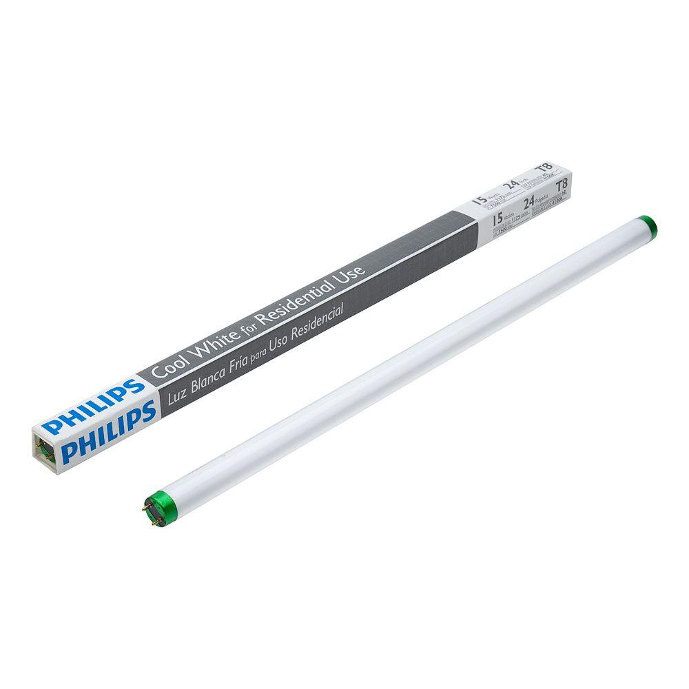 Philips 15-Watt 2 Ft. Linear T8 Fluorescent Light Bulb