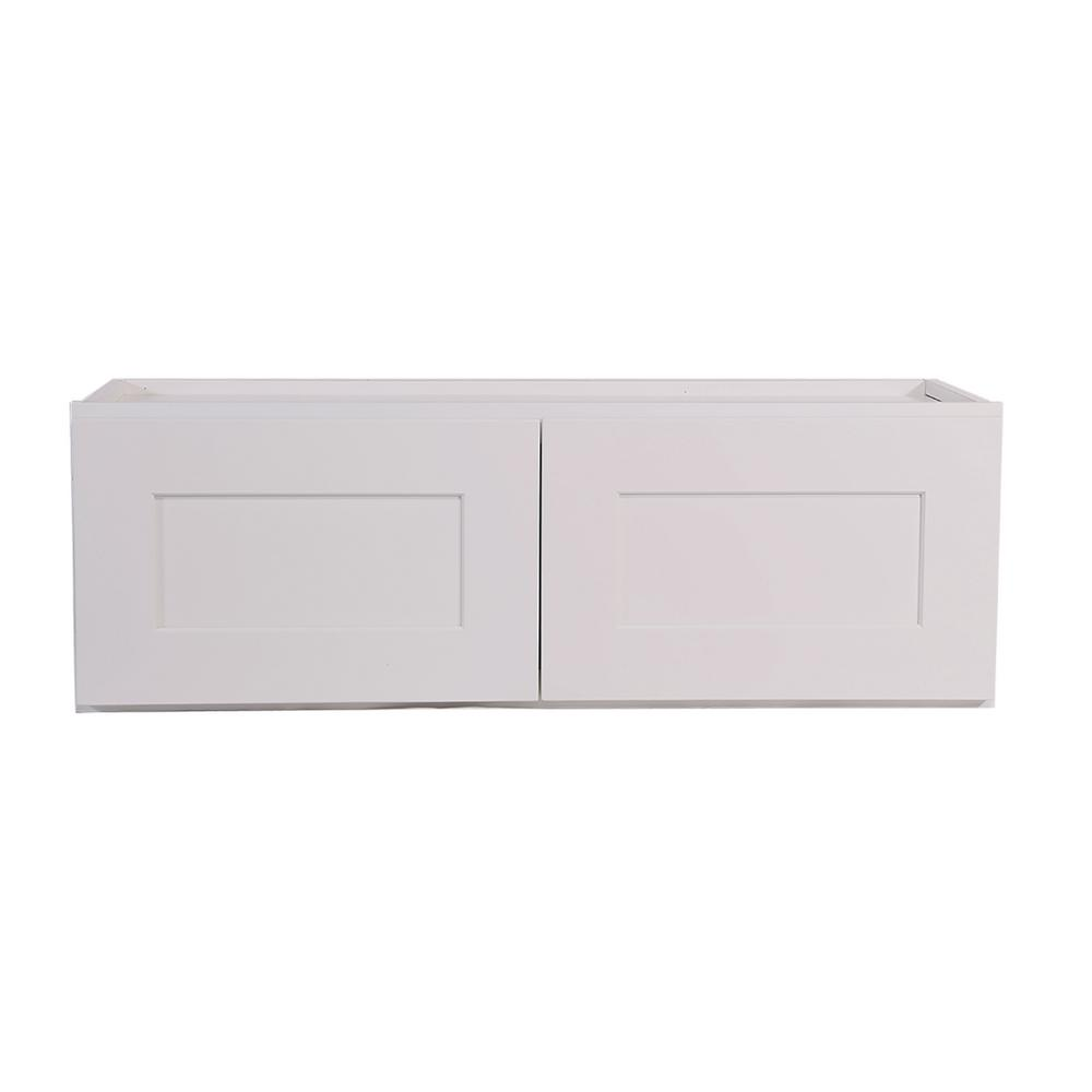 Will White Kitchen Cabinets Stay In Style: Design House Brookings Ready To Assemble 24x12x12 In