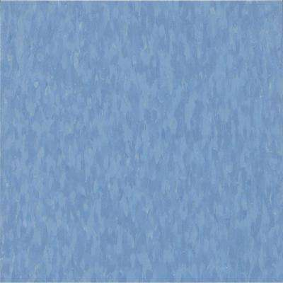 Take Home Sample - Imperial Texture VCT Blue Dreams Commercial Vinyl Tile - 6 in. x 6 in.
