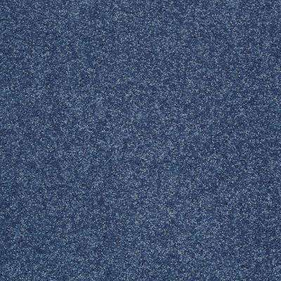 Carpet Sample - Slingshot III - In Color Blue Bird 8 in. x 8 in.