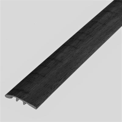 Melrose Oak Rifle 1/8 in. Thick x 1-3/4 in. Wide x 72 in. Length Vinyl Multi-Purpose Reducer Molding