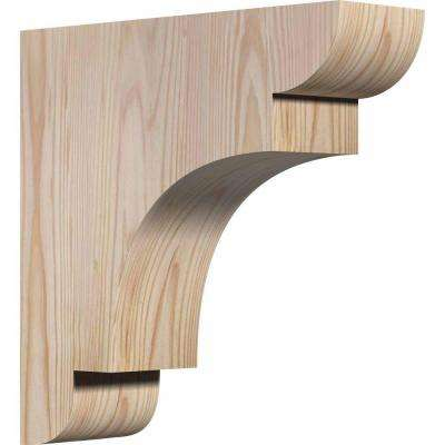3-1/2 in. x 12 in. x 12 in. Douglas Fir New Brighton Smooth Corbel