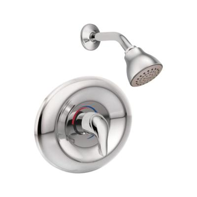 Chateau Posi-Temp Eco-Performance Single-Handle 1-Spray Shower Faucet in Chrome (Valve Included)