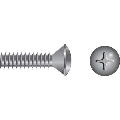 3/8 in. - 16 x 3 in. Oval Head Phillips Machine Screw