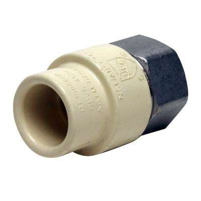 1/2 in. x 1/2 in. CPVC CTS Slip Stainless Steel FPT Adapter
