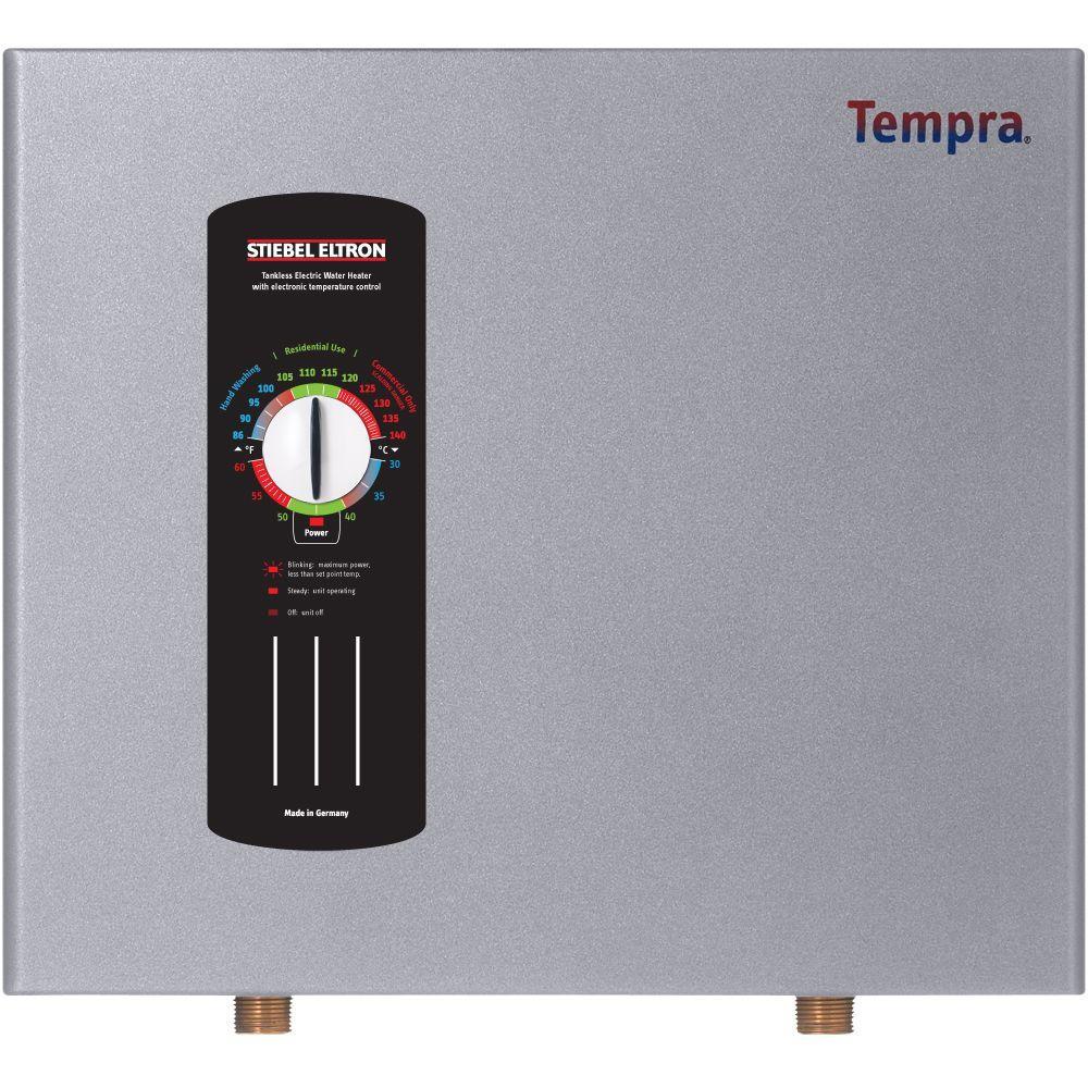 Stiebel Eltron Tempra 20 Self-Modulating 19.2 kW 3.90 GPM Electric Tankless Water Heater