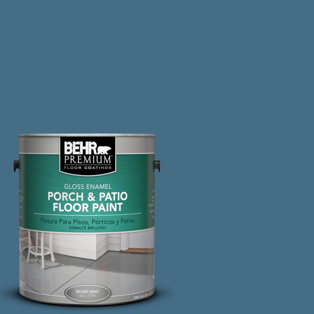 Behr Premium 1 Gal S500 6 Shipyard Gloss Porch And Patio
