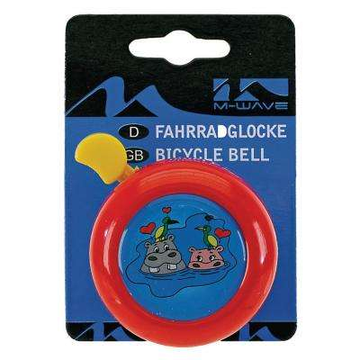 3D Bicycle Bell in Red/Yellow