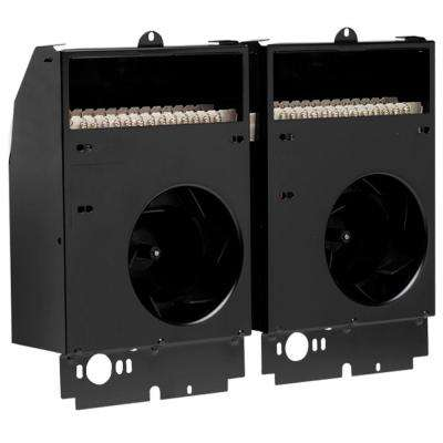Com-Pak Twin 3,000-Watt 240-Volt Fan-Forced Wall Heater Assembly Only