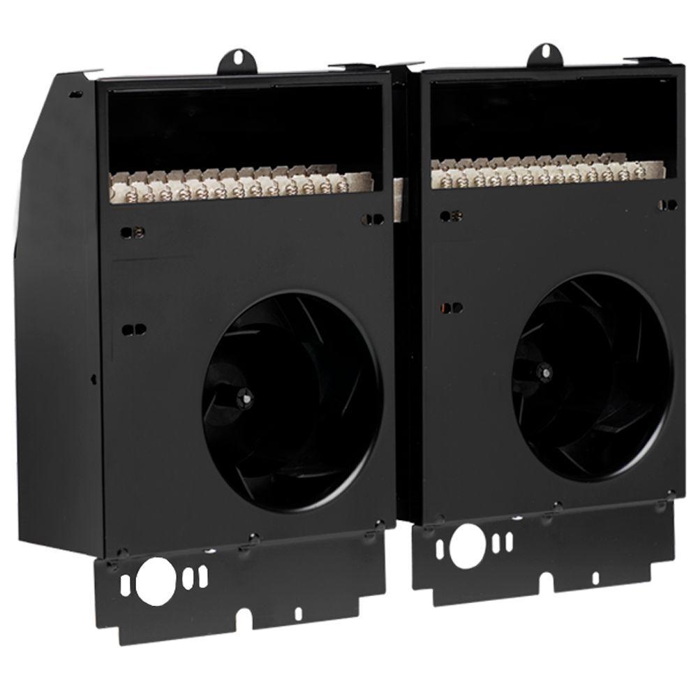 Com-Pak Twin 4,000-Watt 240-Volt Fan-Forced Wall Heater Assembly Only