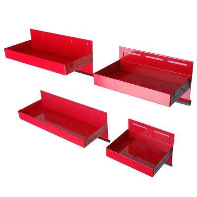 20 in. Magnetic Tool Box Tray Set (4-Piece)