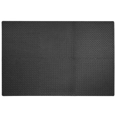 Dark Gray 24 in. x 24 in. x 0.47 in. Anti-Fatigue Flooring (6-Pack)