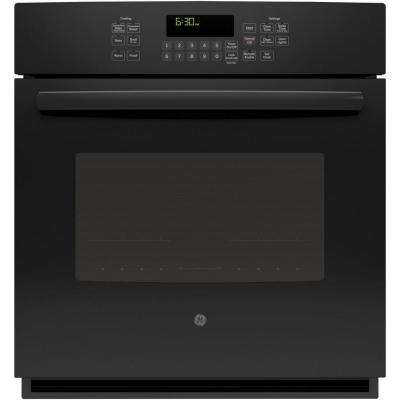 27 in. Single Electric Smart Wall Oven Self-Cleaning with Steam Plus Convection and WiFi in Black