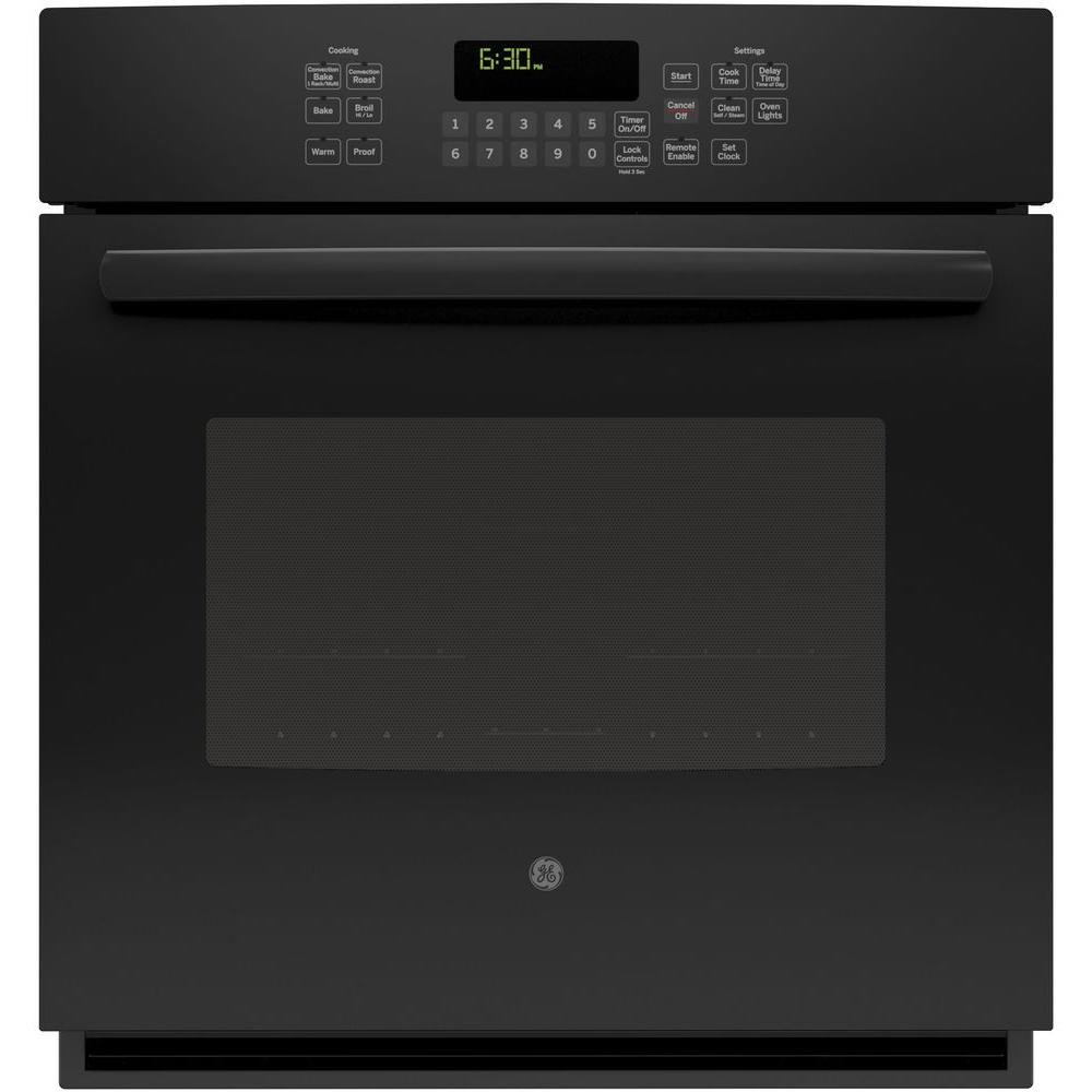 GE Profile 27 in. Single Electric Smart Wall Oven Self-Cl...