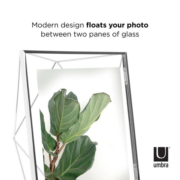 Reviews For Umbra Prisma 8 In X 10 In Chrome Picture Frame 313018 158 The Home Depot