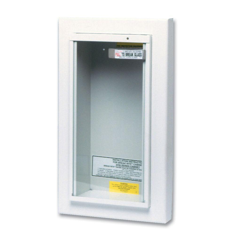 Kidde SemiRecessed Lbs Fire Extinguisher Cabinet The - Semi recessed fire extinguisher cabinet