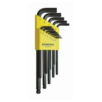 Standard Ball End Long Arm L-Wrench Set with ProGuard Finish (13-Piece)
