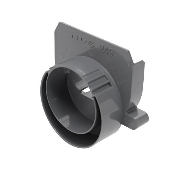 3 in. and 4 in. PVC Spee-D Channel Drain End Outlet