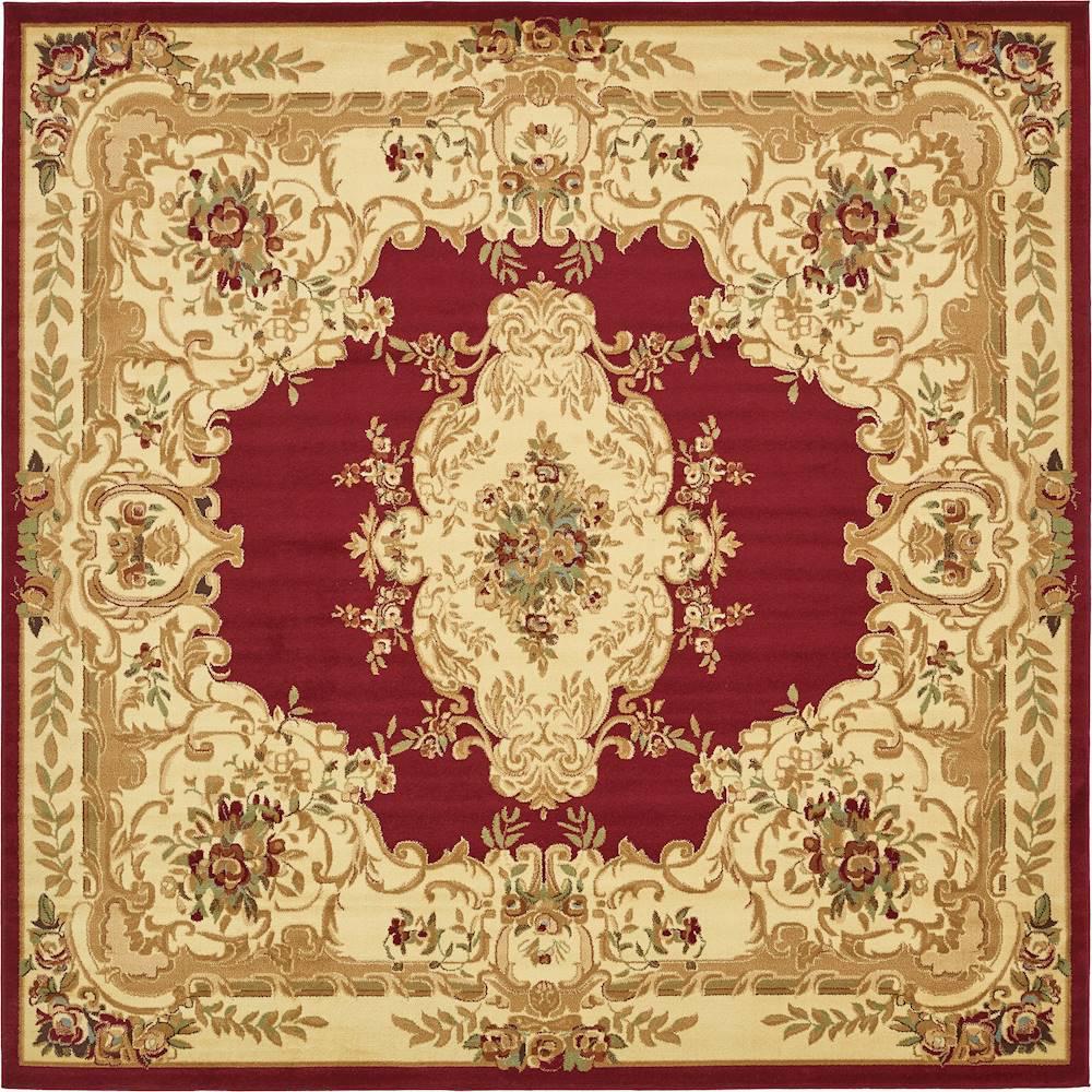 Versailles Leon Red 10' 0 x 10' 0 Square Rug