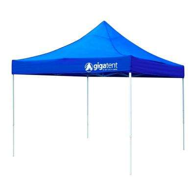 Giga Classic Blue 10 ft. x 10 ft. Canopy  sc 1 st  The Home Depot : tents at home depot - memphite.com