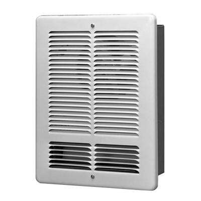 1500-Watt 240-Volt Wall Electric Heater in White
