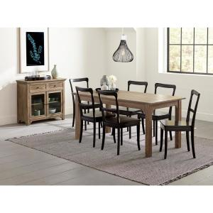Magnificent Teresa Distressed Oak Dining Chairs 2 Per Carton Gmtry Best Dining Table And Chair Ideas Images Gmtryco