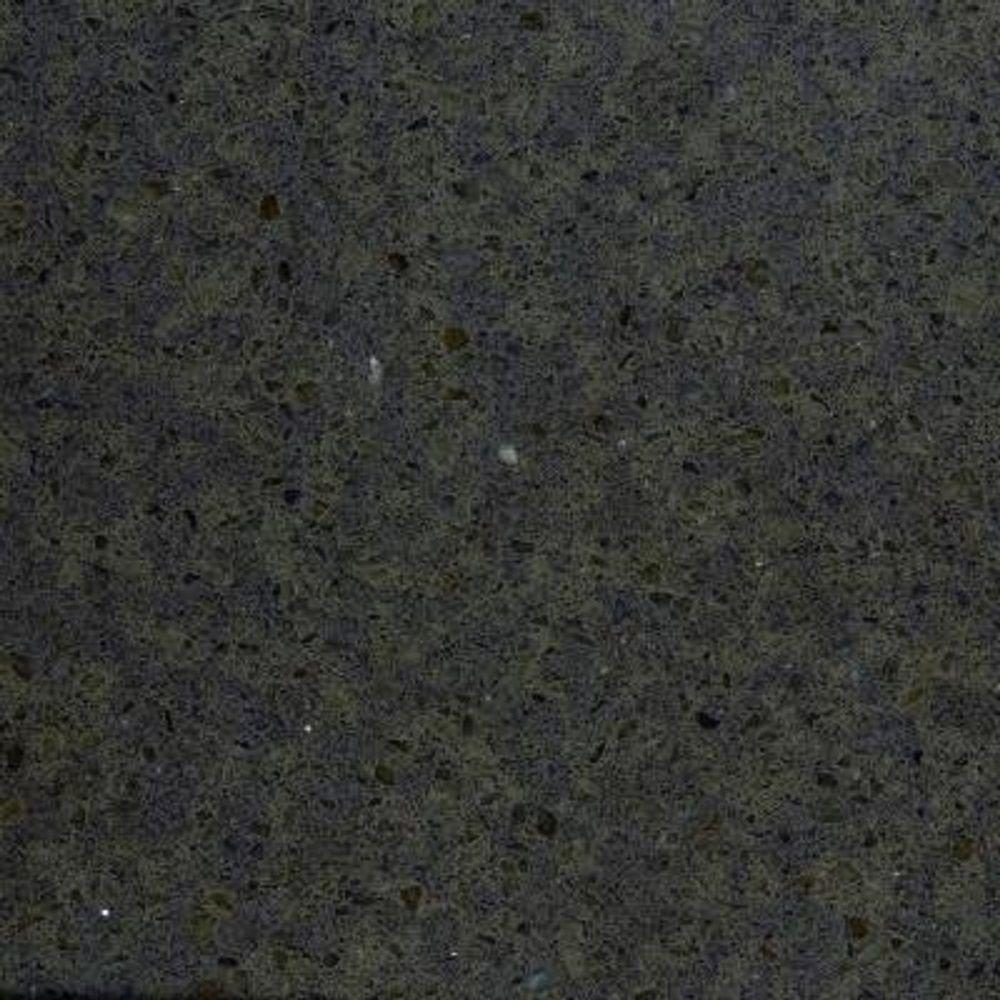 2 in. x 4 in. Quartz Countertop Sample in Iron Ore