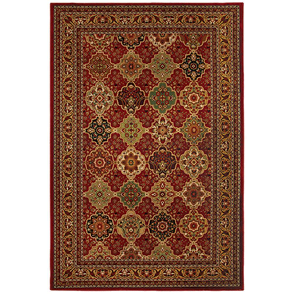 Mohawk Home Decorator's Choice Sir Charles Red 5 ft. 3 in. x 7 ft. 10 in. Area Rug