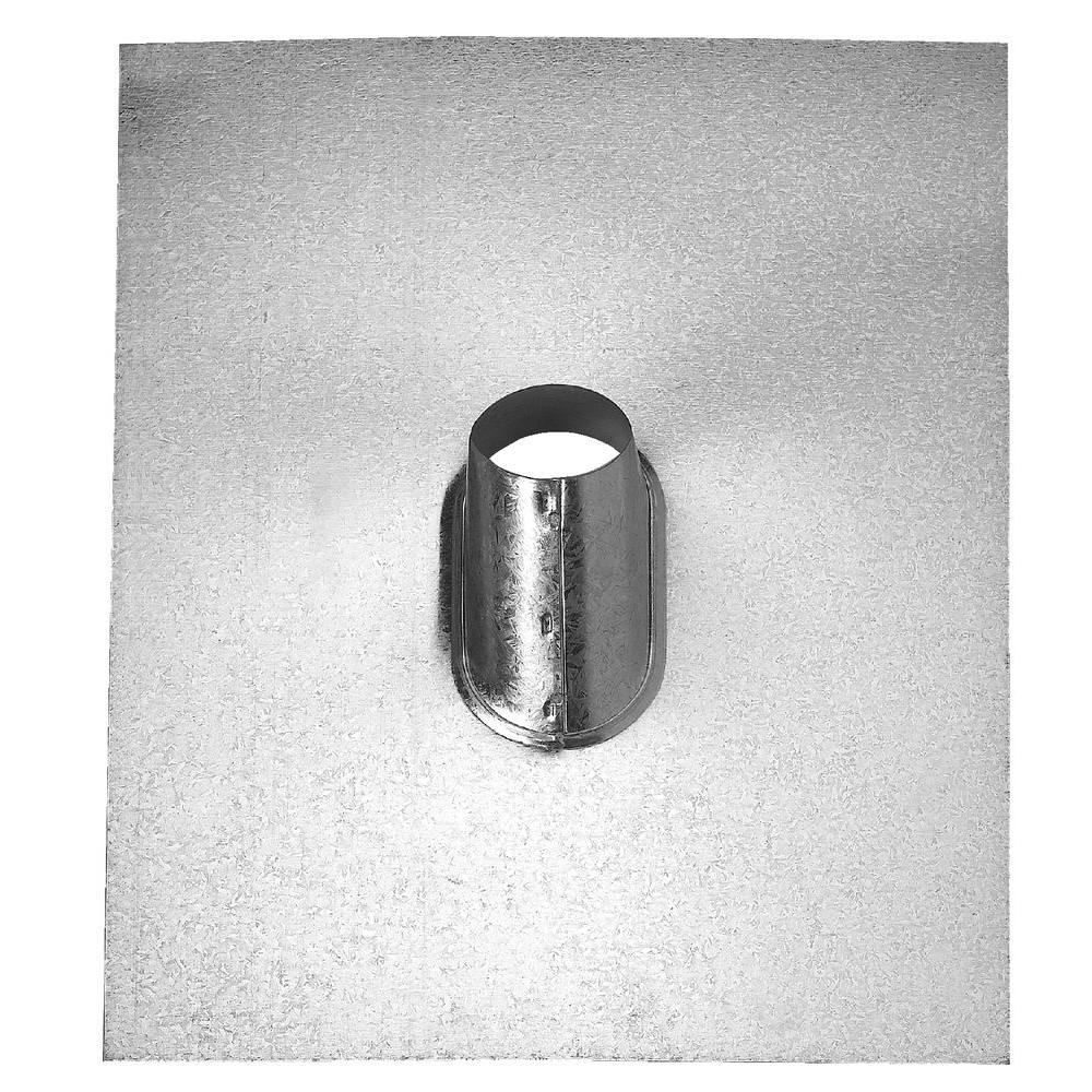 FHA Base 1-1/2 in. Galvanized Steel Pipe Flashing