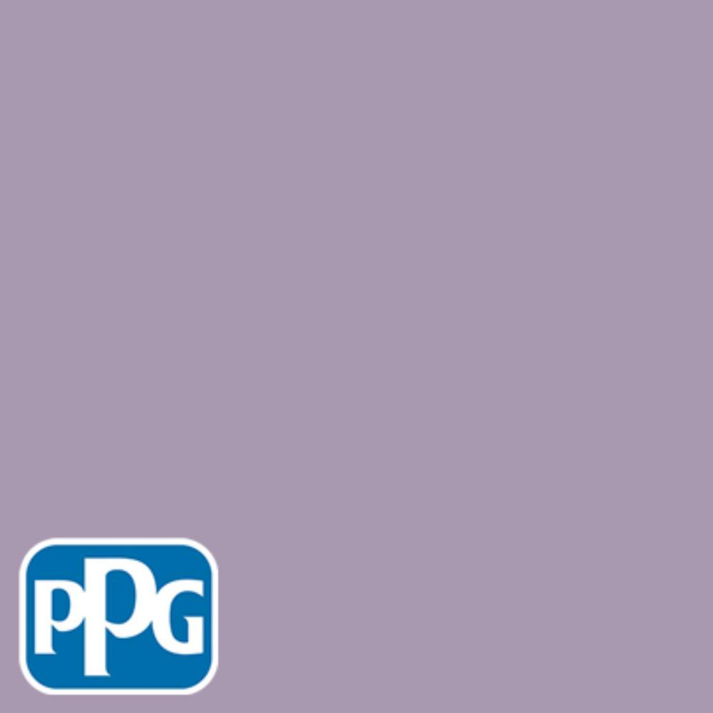 PPG TIMELESS 8 oz. #HDPPGV59U Light French Lilac Flat Interior/Exterior Paint Sample