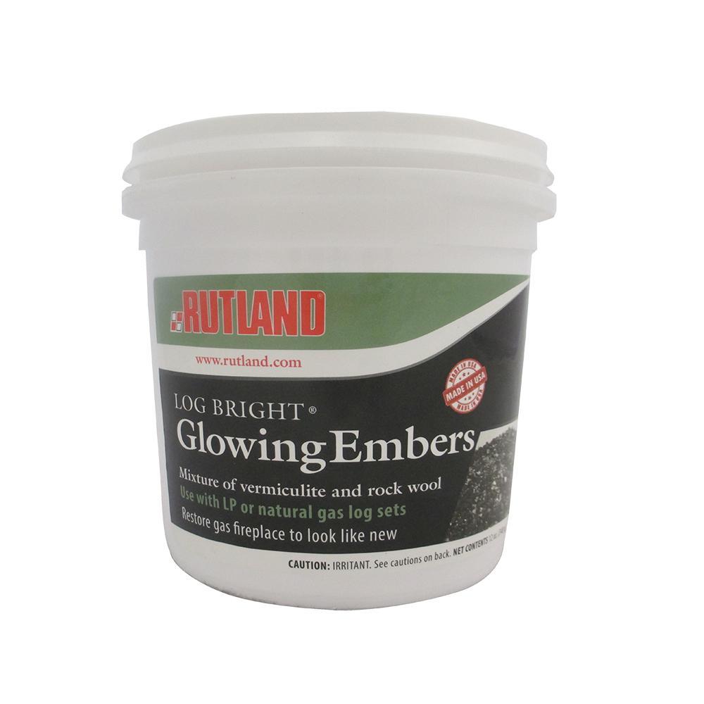 12 oz. Log Bright Glowing Embers Tub