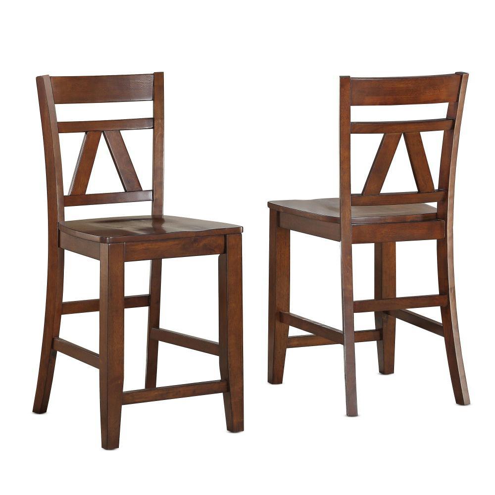 Bryson Cinnamon Counter Chair (Set of 2)