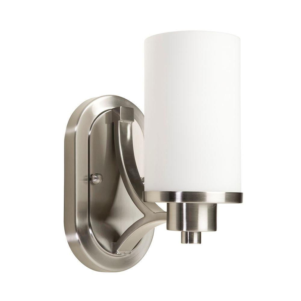 Archieroy 1-Light Polished Nickel Sconce