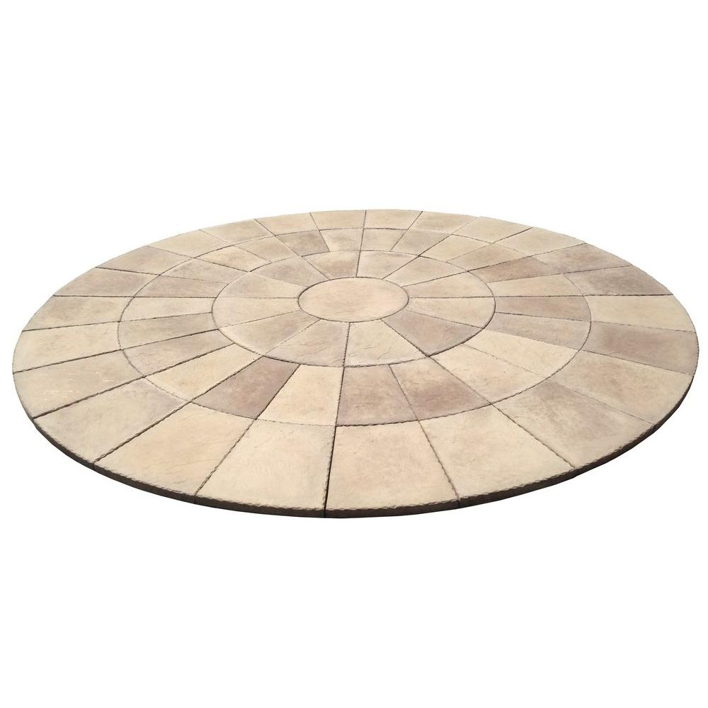 Dia Heritage Stone San Juan Blend Circle Patio Kit