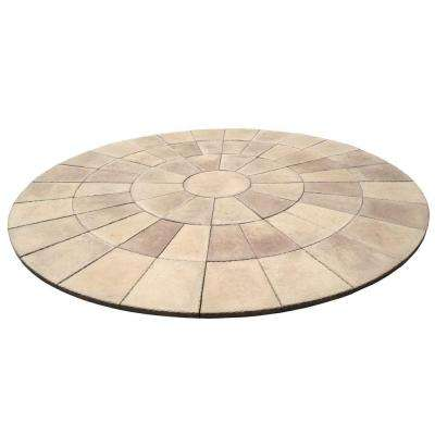 11 ft. Dia Heritage Stone San Juan Blend Circle Patio Kit