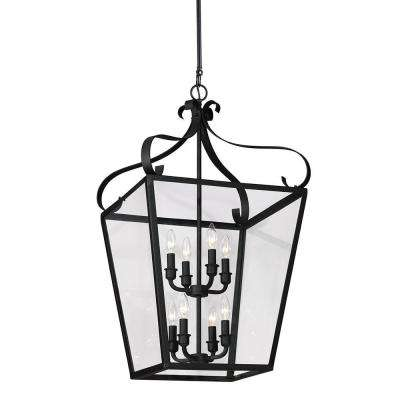 Lockheart 8-Light Blacksmith Hall/Foyer Pendant