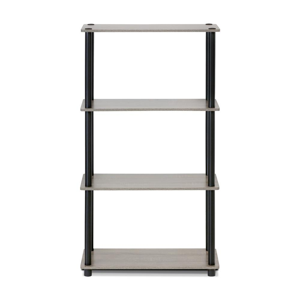 Turn-N-Tube French Oak Grey Open Bookcase