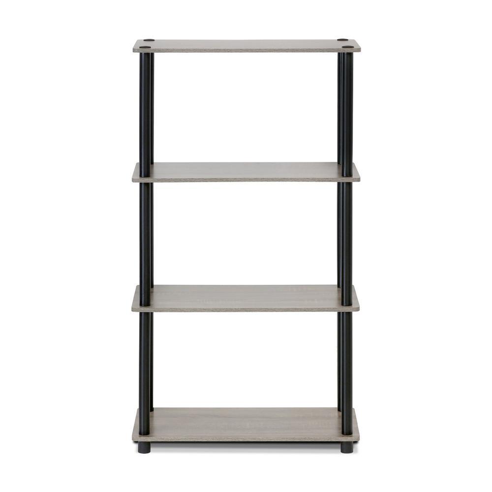 Turn-N-Tube French Oak Grey Open Bookcase