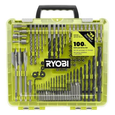 100-Piece Drill and Drive Set