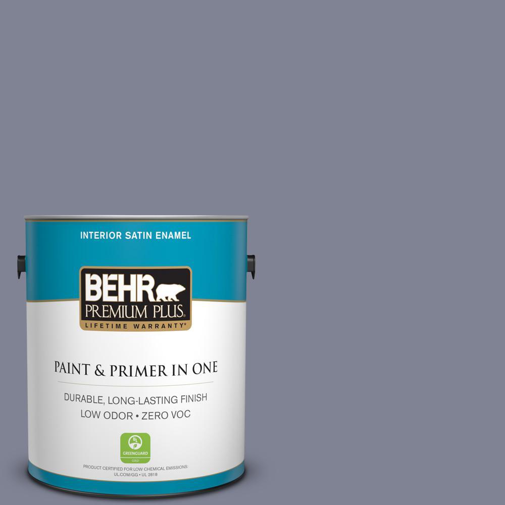 1 gal. #PPU16-16 Metro Zero VOC Satin Enamel Interior Paint