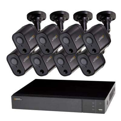 HeritageHD Series 8-Channel 1080p 1TB Video Surveillance DVR System with 8 PIR Cameras