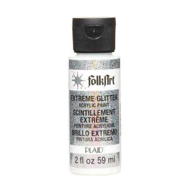2-oz. Hologram Extreme Glitter Craft Paint